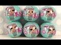 6 Poupées Surprises LOL Lil Outrageous Littles Surprise Dolls