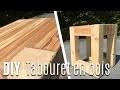 Fabriquer un Tabouret/Table de Nuit avec du bois de Palette