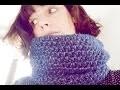 Snood double au crochet (en demi-brides)