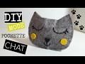 DIY POCHETTE / PORTE MONNAIE CHAT