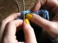 Relever les mailles dans le sens de la lisière : comment faire