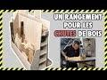 [#DIY 15] FABRICATION D'UN RANGEMENT POUR CHUTES DE BOIS EN CONTRE PLAQUE