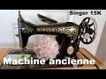 Singer 15k30 . Machine à coudre ancienne.