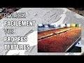 Comment réaliser facilement vos propres textures pour vos tableaux.
