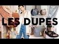 DUPES MODE | Les marques de luxes à petits prix: St Laurent, Chloé, Isabel Marant
