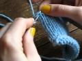Relever les mailles dans le sens du tricot : comment faire