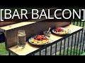 Comment faire un bar pour balcon suspendu - EP40