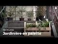 Fabriquer une jardinière en bois de palette | Recycler