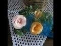 comment faire des roses  avec des bonbons....how to make a flower with a sweet