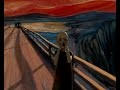 Le Cri d'Edward Munch en animation 3D