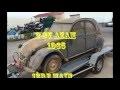 Resto 2CV AZAM 1965 # 23 # Montage cardans neufs et nettoyage radiateur d'huile