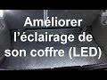 Améliorer l'éclairage du coffre en ajoutant des LED - Renault Clio 2