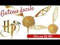 FAIRE UN GATEAU HARRY POTTER FACILE - HARRY POTTER CAKE POPS - GATEAU FACILE