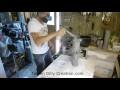 Comment faire une lampe en pvc DIY