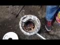 comment faire fondre des canettes d'aluminium dans sa cour