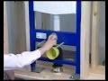 installation d'un WC suspendu - fixation d'un abattant wc - toilette suspendu à fixer