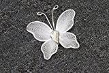 10 Petits papillons Blanc