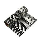 10 rouleaux Washi Tape Masking tape - LATH.PIN Ruban Adhésif Papier Décoratif - 15mm x 10M