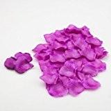 1000 Richland® remplisseuse de vase de pétales de rose en soie mauve ou confettis de table