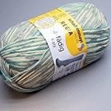 100gr. Metropole Color FB. 4492, 4brins, neuf 2015, Chausson de Coton