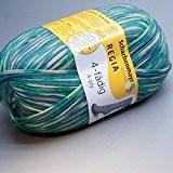 100gr. Metropole Color FB. 4493, 4brins, neuf de 2015, chaussette coton