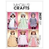 18 vêtements de poupée - un taille seul modèle