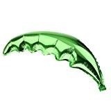 1pcs Ballon d'Aluminium en Forme de Feuille de Palmier pour Soirée Hawaiian de Plage - Vert Pomme