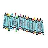 24pcs Pastels à l'Huile Gras Crayon Accessoire de Peinture Dessin Décor Art Cadeau