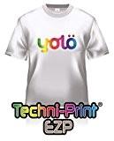 25x A3feuilles de Neenah techni-print ® ezp Laser papier transfert de chaleur/Transferts T-shirt pour homme