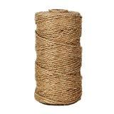 300pieds naturelles Ficelle en jute Best Arts Artisanat Cadeau Ficelle de Noël Ficelle d'emballage industriel matériaux Durable corde pour les ...