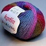 50 G «darling - 208?coloris rouge-un joli dégradé de couleur et caractéristiques