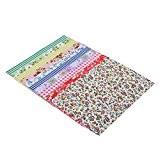 5pcs Tissu Autocollant Floral pour Vêtements Couture Scrapbooking Diy - Vert, 140CM