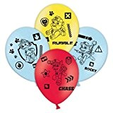 6 Ballons en latex 30cm - La Pat' Patrouille