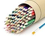 72 Crayon de Couleur par DigHealth, Raffiné Coloré Crayons Aquarellable en Bois, Non Toxique et Ecologique,Professionnel para Dessin,Enfant Rédaction,Jardin secret ...