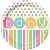 8 ASSIETTES CARTONS BABY SHOWER