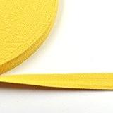 9,1m Coton Toile tissée 2,5cm 25mm Ruban Boucles Sangle Sac à main Ceinture 6couleurs