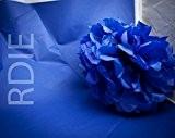 96 feuilles de papier de soie Bleu Roy, 50x75cm, 18 grs