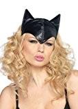 Accessoire pour cheveux Catwoman pour adulte Bandeau avec oreilles Noir
