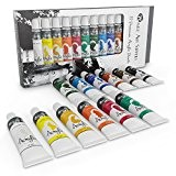 Acrylic Paint Set for Beginners, Students or Artists - A Perfect Mix of Quality and Versatility - Vivid Colours - ...