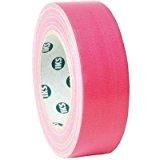 Adam Hall 58065NPIN Rouleau Gaffer 38 mm x 25 m Rose Fluo