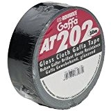 Advance 5807BLK Rouleau Gaffer 50 mm x 50 m Noir