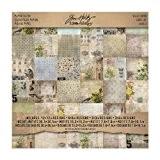 Advantus Idée-Ology papier Stash Paper Pad 12 « X 12 » 36/feuilles-recto-verso Wallflower