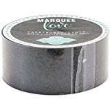 American Crafts Heidi Swapp Marquee Love Washi bande 0.875-inch Noir, paillettes, 10