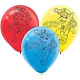 Amscan - 999141 - 6 Balloons Paw Patrol