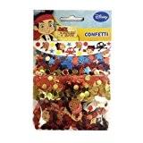 Amscan Jake Et Le pack Neverland pare-chocs de pirates métallisé Confetti
