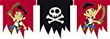 Amscan Jake Et Les Pirates découpée bannière