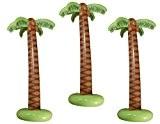 Amscan palmier gonflable de 3 palmiers