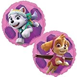 Anagram Paw Patrol Rose Skye & Everest 45.7cm Ballon Plat