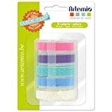 Artemio 18002931 Click Click Pastel Set de 5 Recharge Rubans pour Étiqueteuse Plastique Multicolore 9 x 5 x 12,5 cm