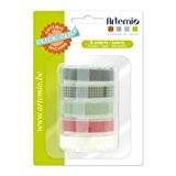 Artemio-5-peice cassettes de recharge pour clic clac Vert Label Maker
